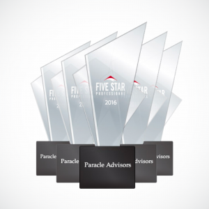 Paracle Advisors Awarded Seattle Magazine's Five Star Professional Wealth Management Award for the 5th year in a row.